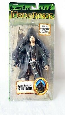 Lord Of The Rings Super Poseable Strider Action Figure  Toybiz Rare • 18£