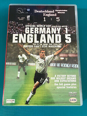 £1.50 • Buy Germany 1, England 5 DVD (2001) England (Disc & Sleeve Only)