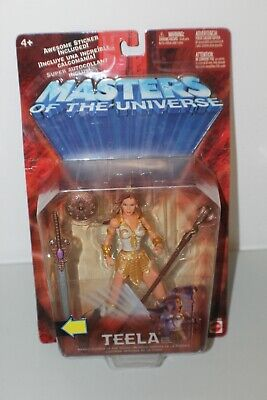 $42 • Buy Teela 2002 MOTU Masters Of The Universe Action Figure Mattel NEW