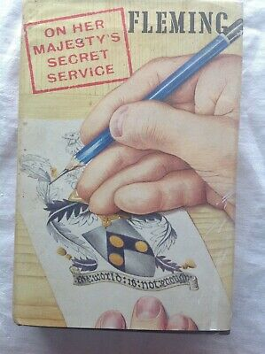 Ian Fleming – On Her Majesty's Secret Service – First UK Edition 1963 - 1st Book • 250£