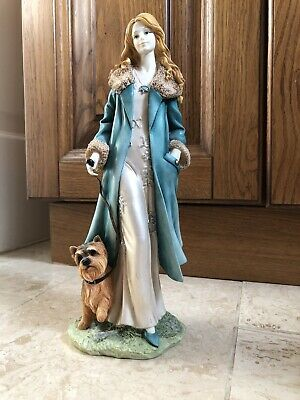 Cheryl The Regal Collection Lady Figurine / Ornament.New.90350 • 30£
