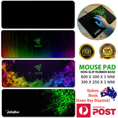 AU17.95 • Buy Razer Goliathus Mouse Keyboard Mat Pad Large Laptop Gaming 300x250mm 800x300mm