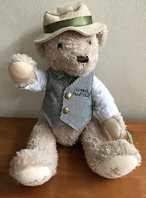 "Harrods 2009 Annual Teddy Bear Food Halls Collectable 20"" High • 34.99£"