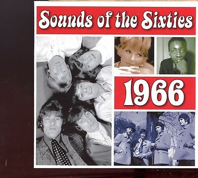 Time Life - Sounds Of The Sixties / 1966 - 2CD • 10£
