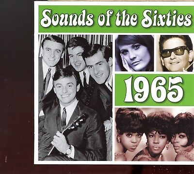 Time Life - Sounds Of The Sixties / 1965 - 2CD - MINT • 25£