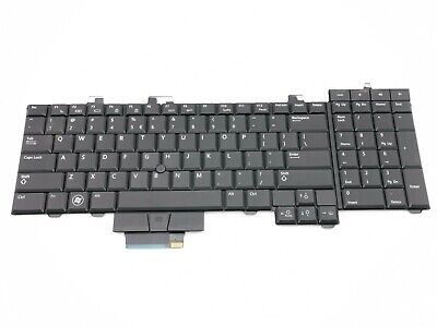 Dell Precision M6400 M6500 Single Keyboard Key Backlit ENG US Layout Free P&P • 3.90£