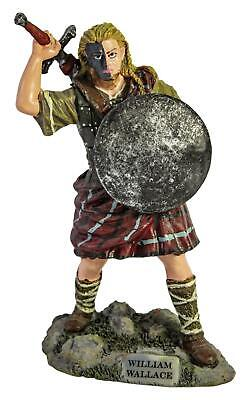 £24.99 • Buy William Wallace Scottish Resin Figurine 16 Cm In Height