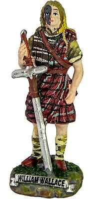 £12.99 • Buy William Wallace Scottish Resin Figurine 9 Cm In Height