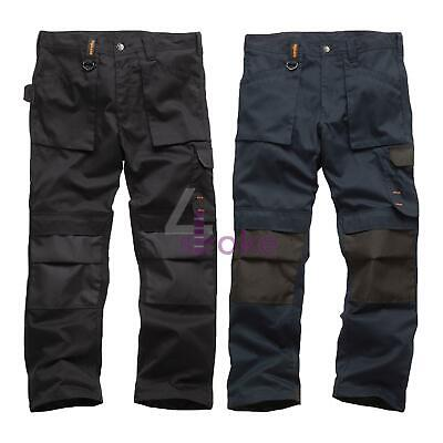Scruffs Worker Work Trousers Non-Holster Black Navy Hard Wearing Trade Trouser • 24.69£