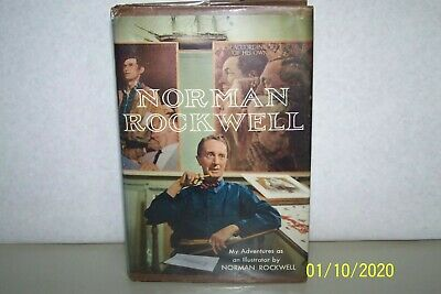 $ CDN526.34 • Buy Adventures As An Illustrator As Told To Tom Rockwell First First Printing Signed