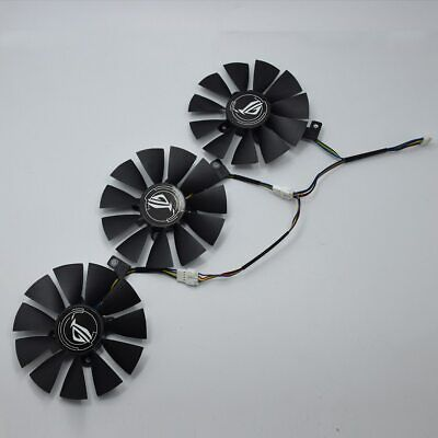 $ CDN37.82 • Buy Cooler Fan For ASUS Strix GTX 1060 OC 1070 1080 GTX 1080Ti RX 480 T129215SU 87MM