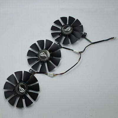 $ CDN18.77 • Buy Cooler Fan For ASUS Strix GTX 1060 OC 1070 1080 GTX 1080Ti RX 480 T129215SU 87MM