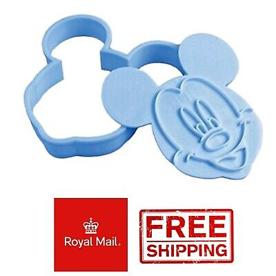 Mickey Mouse Disney Biscuit Cookie Pastry Cutter Cake Baking Decoration Toast • 3.49£