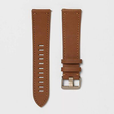 $ CDN21.55 • Buy Fitbit Versa Watch Band Brown Leather One Size Fits Most Factory Seal By Heyday
