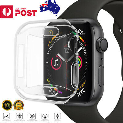 AU4.95 • Buy For Apple Watch 1 2 3 4 5 IWatch Screen Protector Case Full Coverage 38/40/42/44