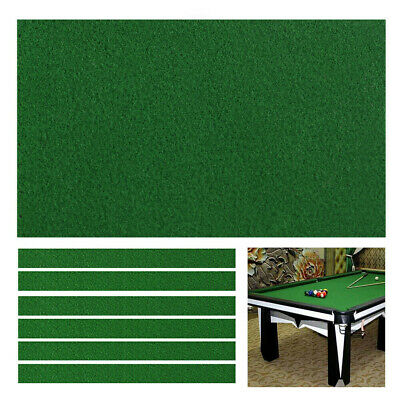 AU33.68 • Buy 7/8/9FT Premium Worsted Billiard Pool Snooker Table Cloth Felt Cover Thick