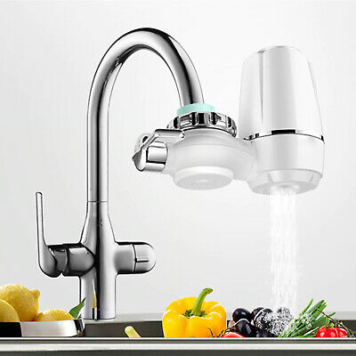 £19.95 • Buy Sink Tap Water Purifier Kitchen Faucet Ceramic Filters Cleaner Home Water Filter
