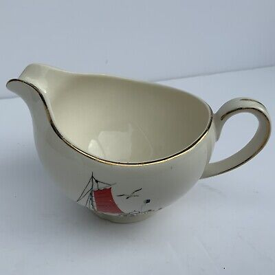 Alfred Meakin Small Jug Or Creamer In The St Ives Fisherman Design • 14.99£