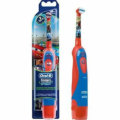 AU24.99 • Buy Oral-B Stages Power Kid's Electric Toothbrush - Extra Soft Bristles, Disney Cars