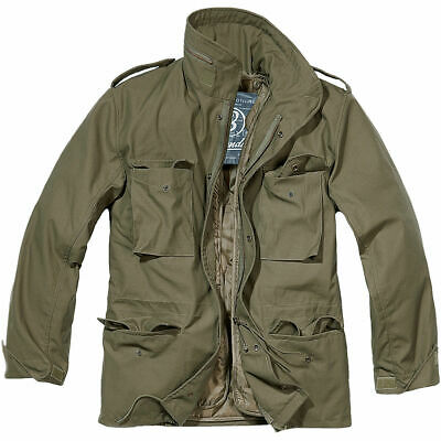 AU143.03 • Buy M65 Mens Army Field Jacket Warm Travel Olive Green Parka Military Coat For Men's
