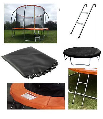 £17.99 • Buy Trampoline Spare Parts Replacement Springs Padding Ladder Jump Mat Rain Cover