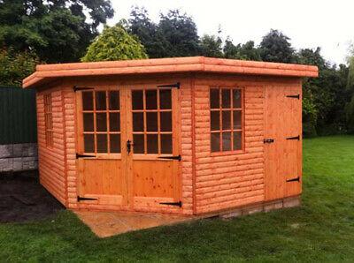 16x12ft Corner Combination Summer House With Shed • 1,800£