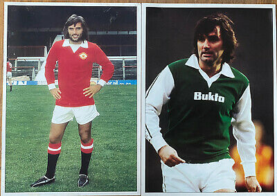 £6.99 • Buy PICTURE POSTCARDS Of GEORGE BEST X 2.