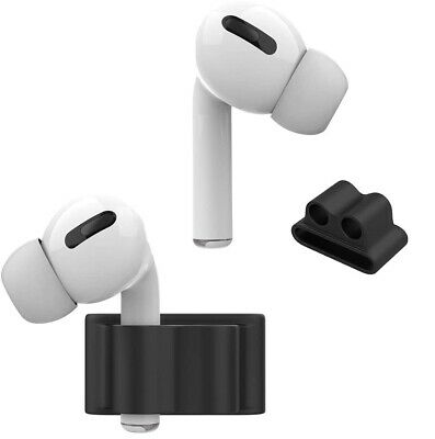 $ CDN7.54 • Buy AirPods Pro Silicone Protective Holder Apple Watch Band Shockproof Accessories