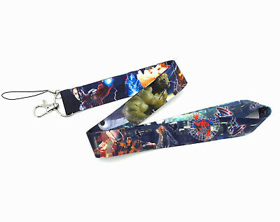 AU19.95 • Buy Avengers Lanyard Womens Mens Kids Superhero Boating Holiday Travel Strap AUS
