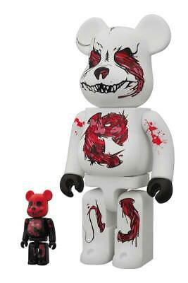$399.99 • Buy Seher One Headquarter 400% 100% Bearbrick 2 Be@rbrick Medicom Rare Limited 2010