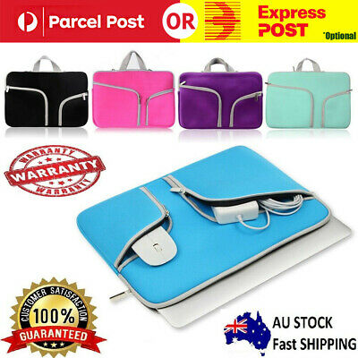 AU16.99 • Buy Laptop Sleeve Case Carry Bag For Macbook Pro/Air Dell Sony HP 11 12 13 14 15inch