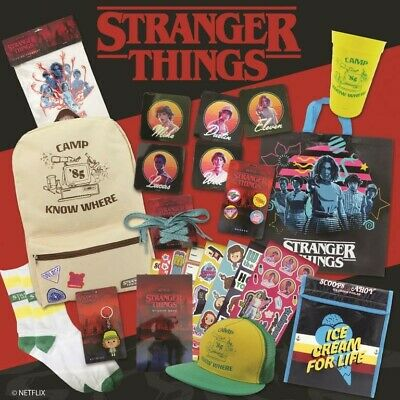 AU29.99 • Buy NEW Stranger Things Showbag From Mr Toys