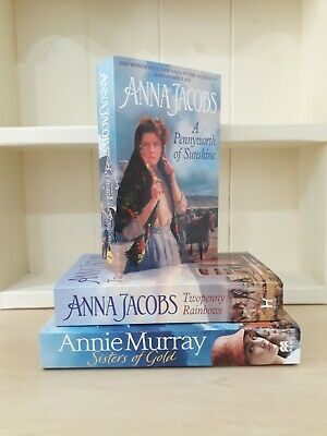 Collection Of 3 X Paperback Saga Romance Books - Anna Jacobs, Annie Murray - NEW • 7.50£