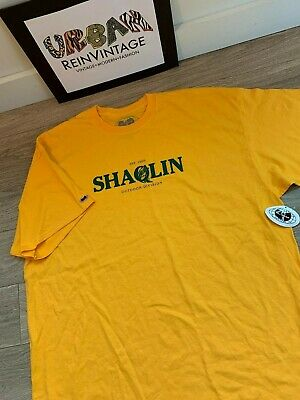 $ CDN66.72 • Buy Vtg Wu Wear Shaolin Outdoors T Shirt Sz 2xl Tang Clan Raekwon Rap Tee Rza Dirty