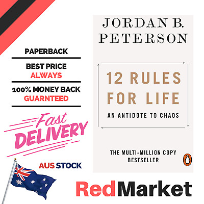 AU15.38 • Buy Jordan B. Peterson - 12 Rules For Life Paperback Book FREE Shipping
