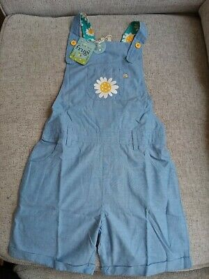 Frugi 7-8 Years Dungarees Bnwt Summer Dungarees • 25£