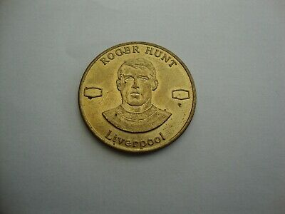 Rare Texaco Collectables 1969 Famous Footballers Coin Roger Hunt Liverpool • 9.99£