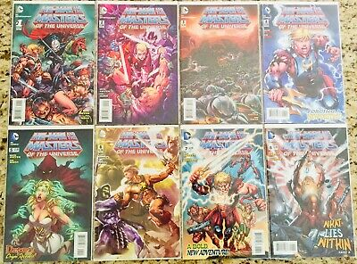 $62.50 • Buy He-Man And The Masters Of The Universe #1-8 (DC, 2013) Excellent Condition!