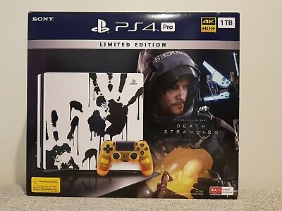 AU1000 • Buy PlayStation 4 PS4 Pro 1TB Limited Edition Death Stranding Console NEW SEALED !!