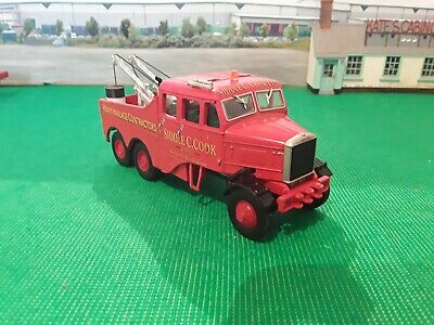 Code 3 Scammell Recovery Truck Siddle Cook Livery • 33£