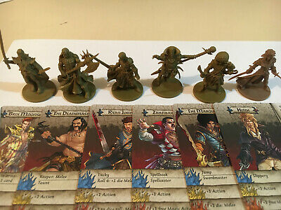 AU79.95 • Buy Zombicide KS Characters, Horde Box, Huntsman Pack, Zanzibar, Hitch ++ 'The Band'