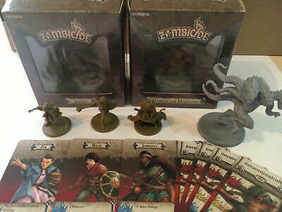 AU99.95 • Buy Zombicide Horde Box, 5 Characters. Zee, Lorentz, Billy, North, Liam, Abomination