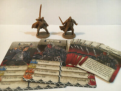 AU36.95 • Buy Zombicide Black Plague KS Huntsman Pack Characters Troy And Evil Troy.