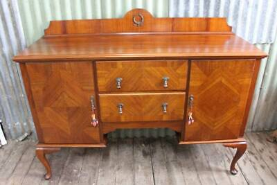 AU995 • Buy A Stunning Blackwood Fiddleback Sideboard Buffet *FREE DELIVERY *T&C's