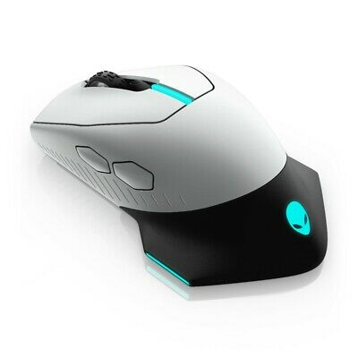 AU109 • Buy Dell Alienware AW610M Wired/Wireless Gaming Mouse - Lunar Light 16000dpi