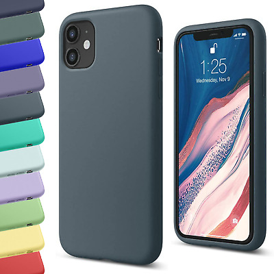 Silicone TPU Case For Apple IPhone 11 12 Pro Max X XS SE XR 6 7 8 Plus Matte Gel • 2.99£