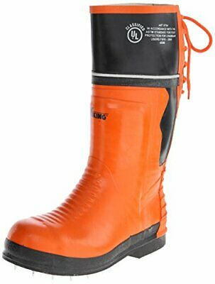 Viking Footwear Class 2 Chainsaw Caulked Boot - Choose SZ/color • 206.03£