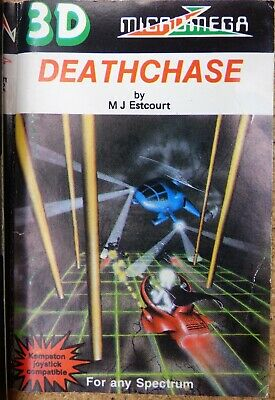 Deathchase (3-d Deathchase) By Micromega - Spectrum - TESTED OK • 6£