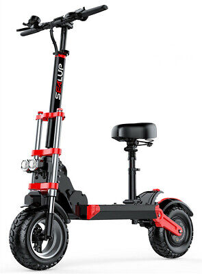 AU1599 • Buy 2020 Electric Adult Scooter Commute Q18 500w 10.4Ah 48v With Seat Off Road