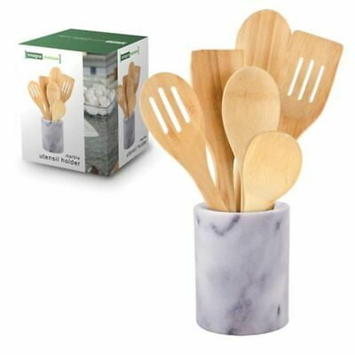 AU9 • Buy Integra - Maison Grey Marble Utensil Holder 15x12cm